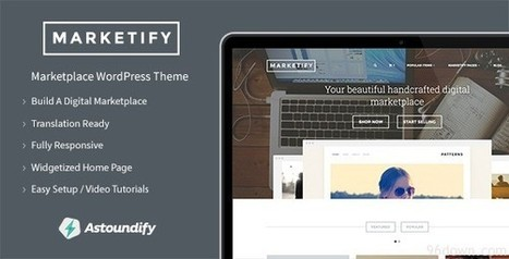 Marketify Marketplace WordPress Theme v1.1.1 | Download Full Nulled Scripts | Download Free Nulled WP Themes & Plugins | Scoop.it
