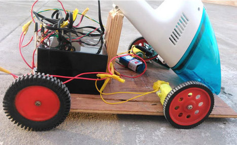 Arduino Based Obstacle Avoiding Vacuum Cleaner Robot | Arduino Projects | Scoop.it