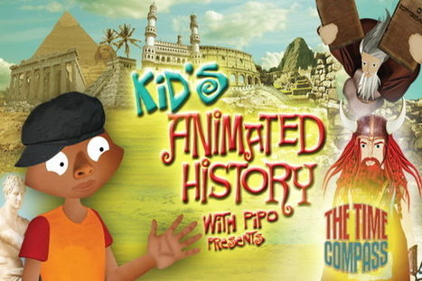Kid's Animated History With Pipo | Free or Almost Free Homeschool Resources | Scoop.it