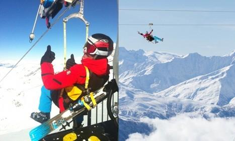 World's highest zipline opens in the French Alps   Zip Lines   Scoop.it
