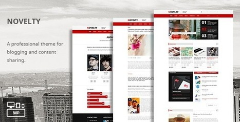 Novelty - Magazine WordPress Theme | TeslaThemes | Clean WordPress Themes | Scoop.it