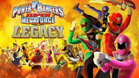 Play Power Rangers Super Mega force Legacy Games - Games Hobby | GamesHobby | Scoop.it