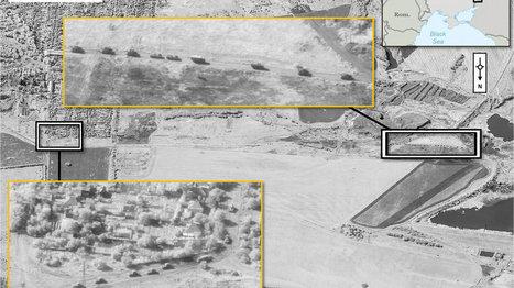 NATO releases satellite imagery of Russian forces in Ukraine | MilPolSec | Scoop.it