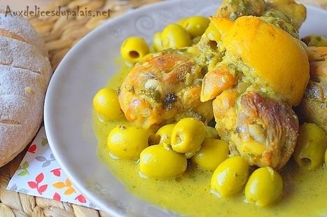 Tajine de poulet au citron confit et olives | Recettes Pour Ramadan 2016 | Scoop.it