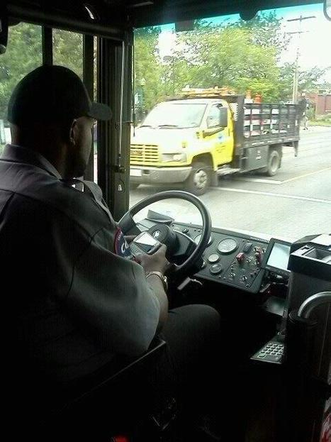 Is Texting While Driving Illegal For Bus Drivers, Law Enforcement? - NBC4i.com | Police Problems and Policy | Scoop.it