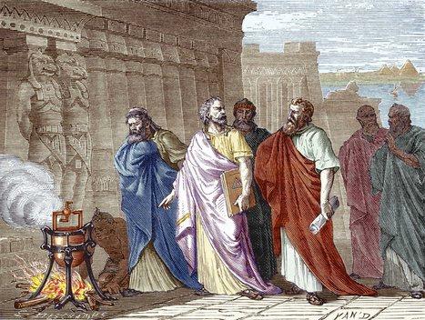Inventos griegos: Los autómatas de Herón | Mundo Clásico | Scoop.it