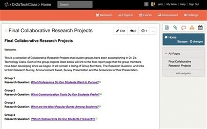 Create collaborative research projects with free tools | Moving Education into the 21st Century | Scoop.it