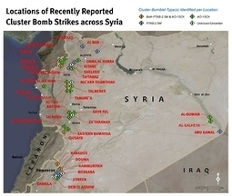 Syria: Despite Denials, More Cluster Bomb Attacks   Human Rights Watch   Human Rights and the Will to be free   Scoop.it