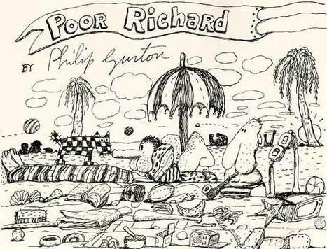 "UBUWEB :: Philip Guston ""Poor Richard""   Visual Heuristics   Scoop.it"