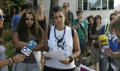 #España Multas a estudiantes por las protestas a la 'ley Wert' en Jaén   estudiante   Scoop.it