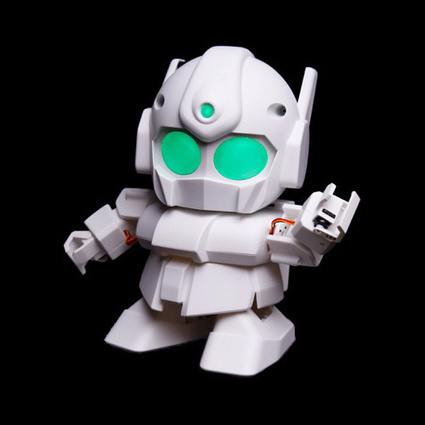 SwitchScience - RAPIRO - Adorable humanoid robot to assemble | AI, NBI, Robotics & Cybernetics & Android Stuff | Scoop.it