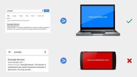 Google pénalise les sites utilisant des redirections trompeuses sur mobile | KILUVU | Scoop.it