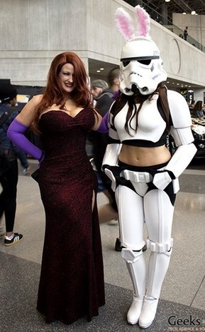 More hot (but very cool) cosplay action from San Diego ComicCon 2014 | Brian's Science and Technology | Scoop.it