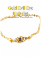 Gold Evil Eye Bracelet | Home Life | Scoop.it