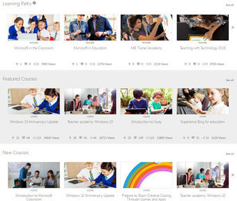 Microsoft Education Community - great, free resource for teachers | Tech, Web 2.0, and the Classroom | Scoop.it