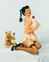 The Vintage Pin Up Girls of Fiona Stephenson Gallery1   Rockabilly   Scoop.it