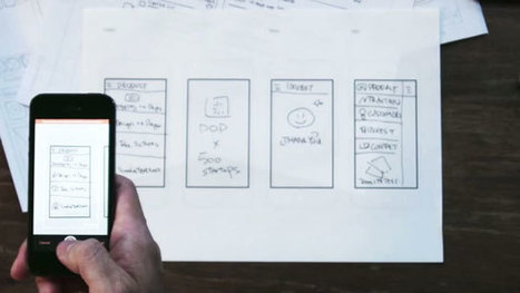 POP App : une application qui donne vie à vos wireframes papier | Webmaster-cms | Scoop.it