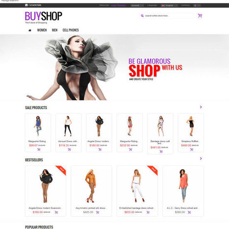 BuyShop Prestashop Theme | Prestashop Theme Download | Best Prestashop Themes | Scoop.it