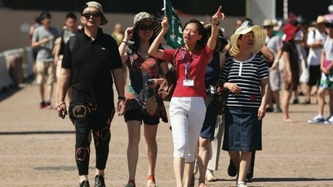 Annual Chinese visitor numbers exceed 1 million for first time | AHA RSA | Scoop.it