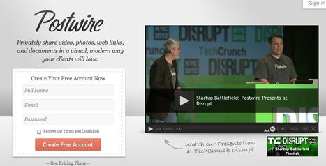 @Postwire - Private, Visual, Sharing | Emerging Digital Workflows [ @zbutcher ] | Scoop.it