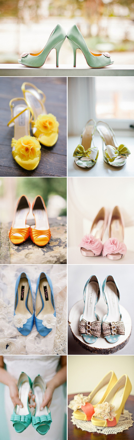20 Summer Peep-Toe Wedding Shoes | Peep Toe Shoes- The Trend World Adores | Scoop.it