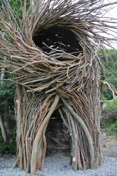Human Nests by Jayson Fann #art #sculpture #publicart #installation #nests #nature #environment | Luby Art | Scoop.it