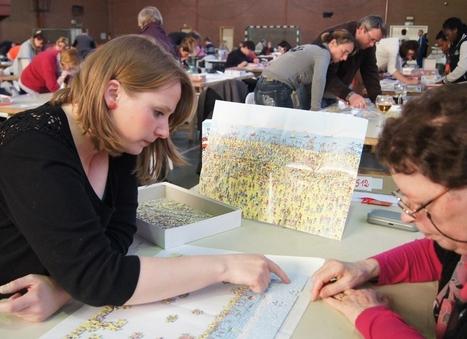 Trois heures pour assembler un puzzle - lavenir.net | Jeu puzzles | Scoop.it