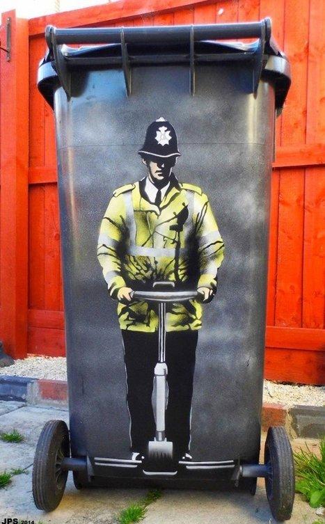 Les oeuvres de ce street artist se mêlent à leur environnement et le résultat est génial   BTS-M22-ville-en-mutation   Scoop.it