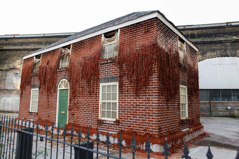 Alex Chinneck's Actual House of Wax | Strange days indeed... | Scoop.it