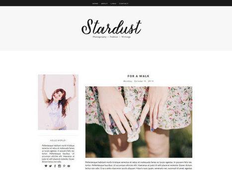 Stardust Blogger Theme | Blogger themes | Scoop.it