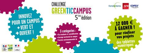 Concours étudiant Green TIC Campus - Capcampus | Technologie informatique | Scoop.it
