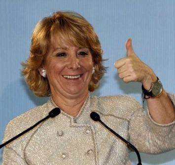 Esperanza Aguirre prefiere cambiar las papeleras antes que financiar la enseñanza pública | Noticias Curiosas | Partido Popular, una visión crítica | Scoop.it