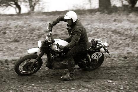 Triumph Scrambler gallery - like Steve McQueen   Triumph Classic   Scoop.it