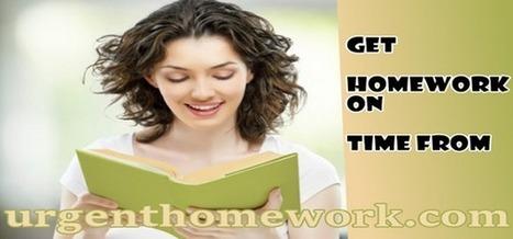 Homework On Time   homework assignment help   Scoop.it