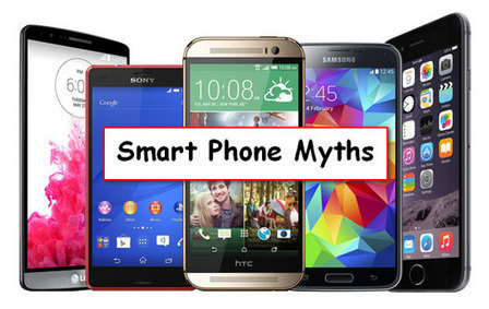 Common Smart phone Myths Thats are not True   Internet   Scoop.it