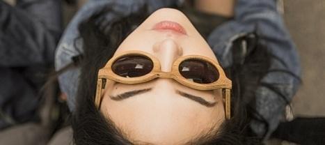Voyez la vie en vert avec ces lunettes made in Auvergne en fût de champagne recyclé | Entrepreneuriat et économie sociale | Scoop.it