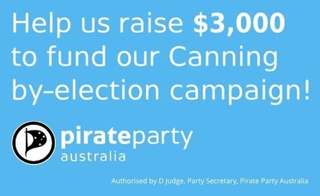 Canning by-election campaign by Pirate Party Australia | Peer2Politics | Scoop.it
