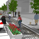 The Rise of The North American Protected Bike Lane | Bicycle Safety and Accident Claims in CA | Scoop.it