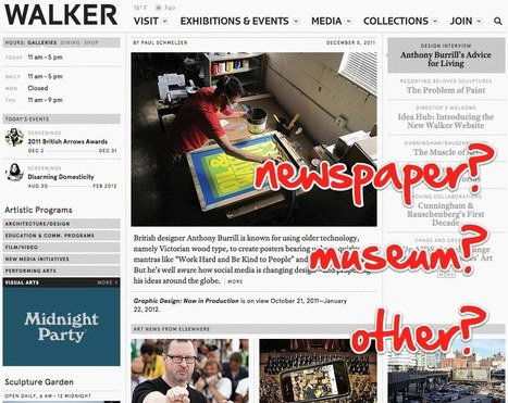 What Can Museum Educators Do for Museum Websites? | Website proposal | Scoop.it