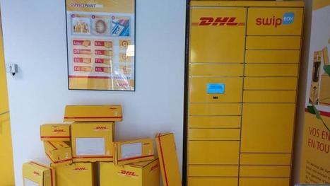DHL ouvre des consignes chez Franprix, Intermarché et Total | Économie de proximité | Scoop.it
