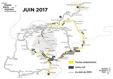 Newsletter de rentrée de la Société du #GrandParis : les chantiers gagnent du terrain | Le Grand Paris sous toutes les coutures | Scoop.it