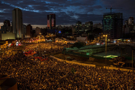 """5 Demands in Brazil: A Million Marchers Across Country Say """"It's Not About 20 Cents"""" 