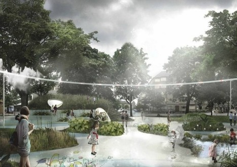 "Il capte l'eau et la chaleur : le premier parc ""résilient"" inauguré à Copenhague 