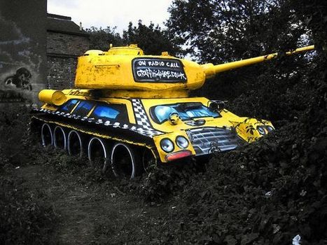 10 Mighty Tank Graveyards & Abandoned Battle Vehicles of the World - Urban Ghosts   Photoshopography   Scoop.it