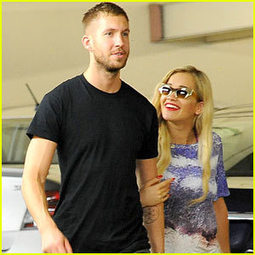 Rita Ora & Calvin Harris Stick Together at Whole Foods ... - Just Jared | Exotic foods | Scoop.it