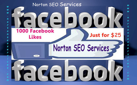 Norton SEO Services 1K Facebook likes for Just $25 ~ Best Online SEO Services - Norton SEO Services | Norton Best SEO Services Online, SEM Services & Web Designing | Scoop.it