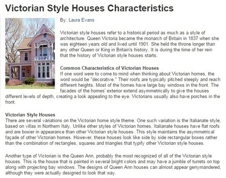 Homes for Sale in Vancouver: Look for Beautiful Victorian Style Houses | Vancouver Canada Homes | Scoop.it