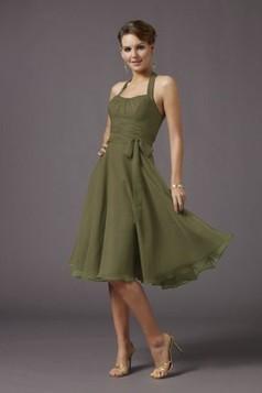 Halter neckline chiffon Evening Dress EWD0040 - Adollia makes the dresses fit you! | dresses | Scoop.it