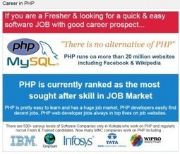 5 Factors to Choose the Best PHP Institute in Kolkata | PHP training institute in kolkata | Scoop.it