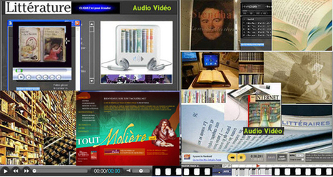Une audiovidéothèque en littérature française à destination des étudiants | | Education et TICE | Scoop.it